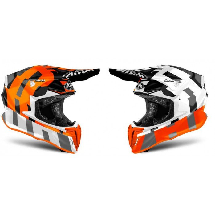 AIROH HELMET TWIST 2.0 FRAME ORANGE MATT XS