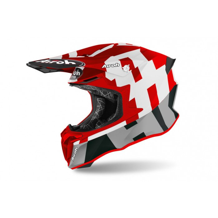 AIROH HELMET TWIST 2.0 FRAME RED MATT L