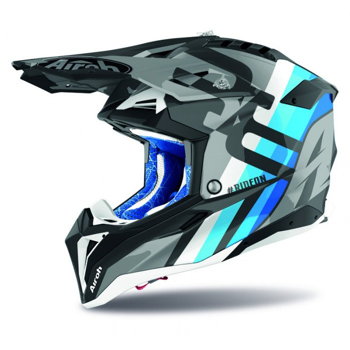 Airoh Helmet Aviator 3 Rainbow anthracite matt S