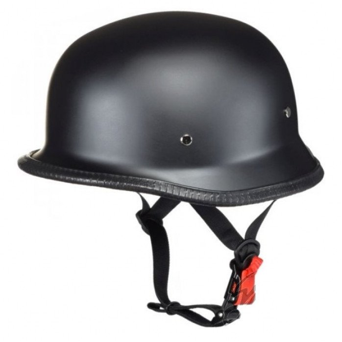 AWINA HELMET OPEN FACE GERMAN TN8679 BLACK-MAT W/O ECE XL