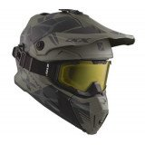 CKX Helmet + Goggles TITAN Climb Matt grey M