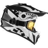 CKX Helmet + Goggles TITAN Airflow Extra Ivory XS