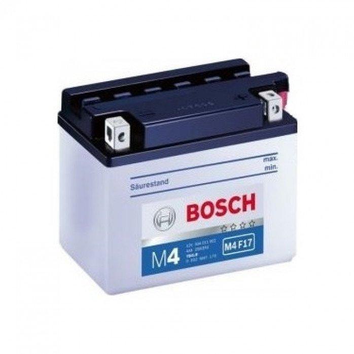 Akumuliatorius BOSCH 4Ah 50A M4 Fresh Pack