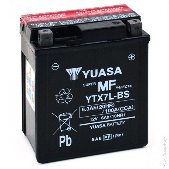 Akumuliatorius YUASA 6.3Ah 12V