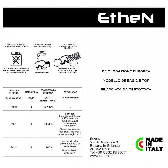 ETHEN ROLL OFF 40mm PRIMIS RED/WHITE MUD0507