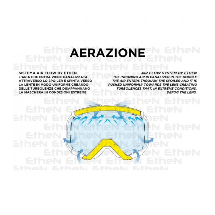 AR0727 MASCHERA ARES PLUMA NERO / LUREX ORO