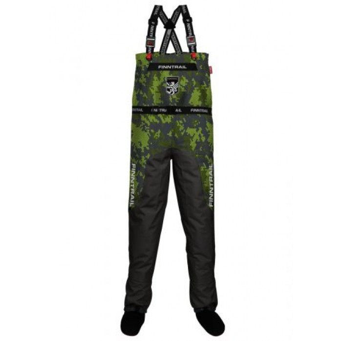 FINNTRAIL WADERS AQUAMASTER CAMOGREEN M