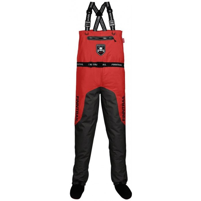 FINNTRAIL WADERS AQUAMASTER RED S