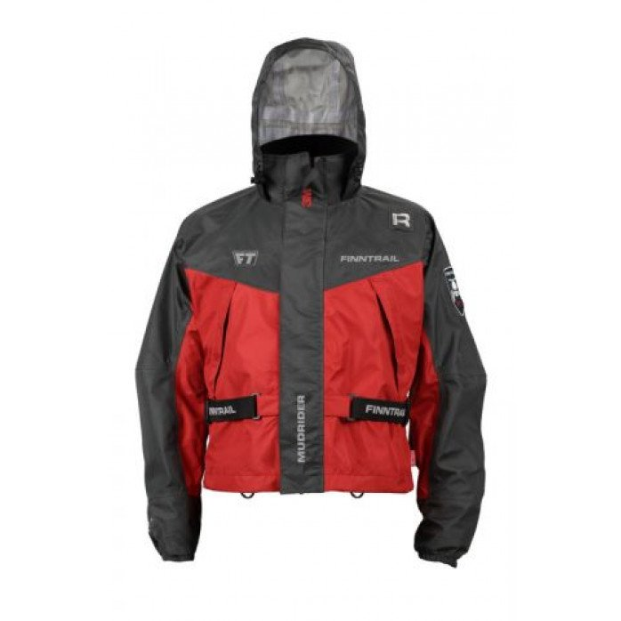 FINNTRAIL JACKET MUDRIDER RED XXL