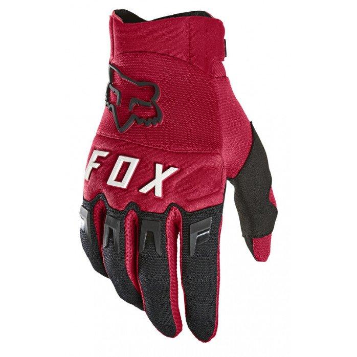FOX DIRTPAW PIRŠTINĖS RED XL