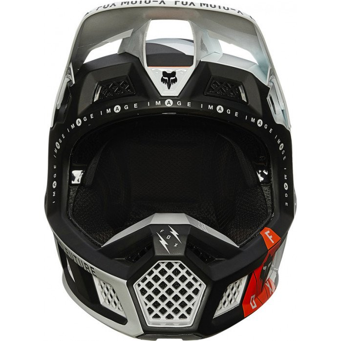 FOX V3 RS RIGZ ŠALMAS BLACK L
