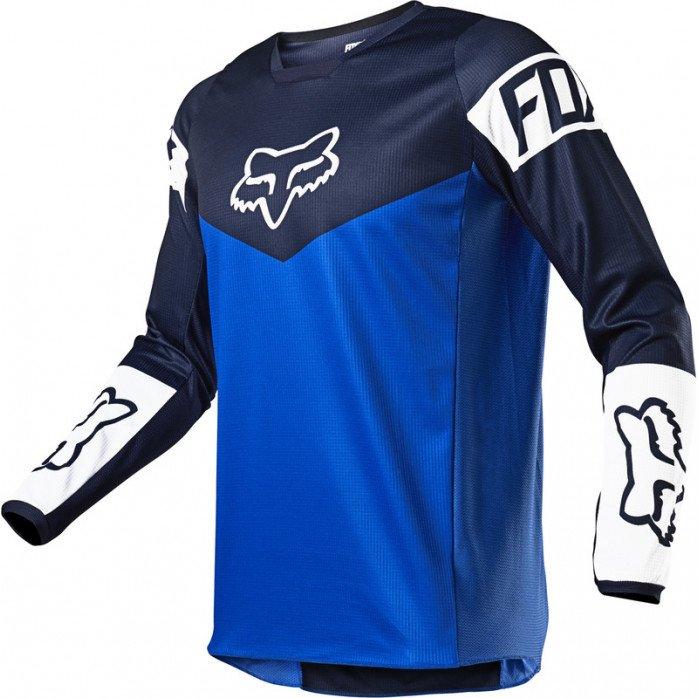 FOX 180 REVN MARŠKINĖLIAI  BLUE XL