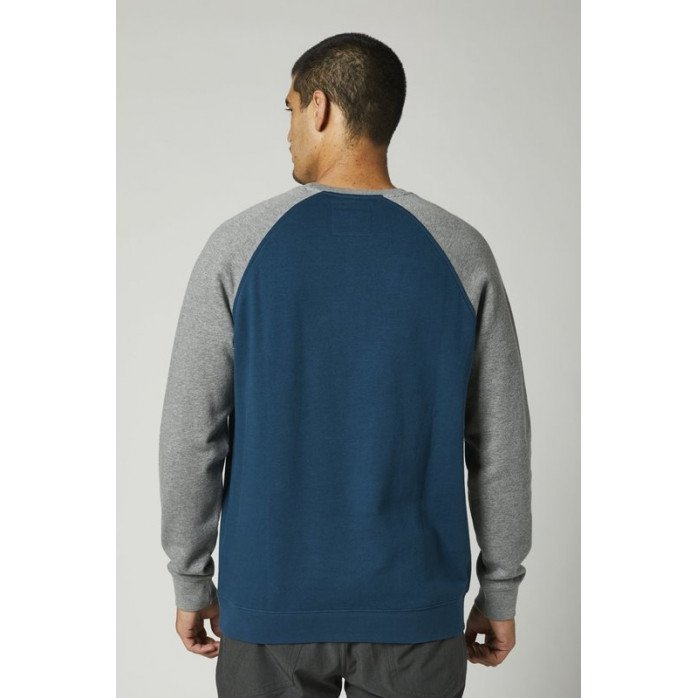 FOX MEGZTINIS CREW FLEECE DARK INDIGO M