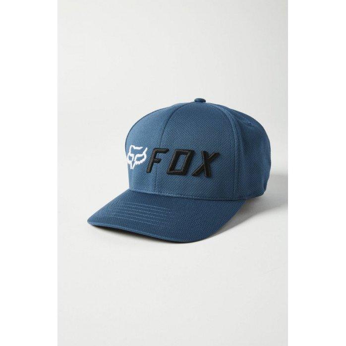 FOX APEX FLEXFIT HAT DARK INDIGO L/XL
