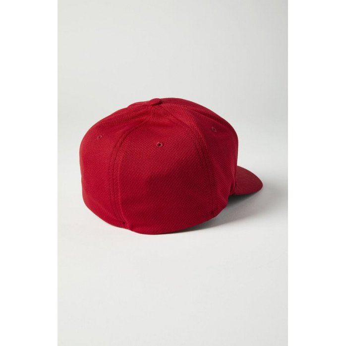 FOX APEX FLEXFIT HAT RED/BLACK L/XL