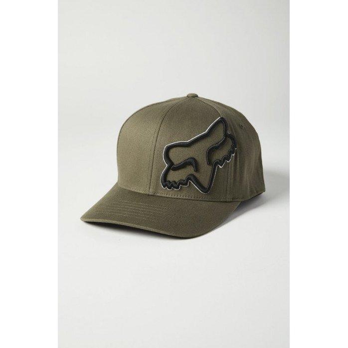 FOX EPISCOPE FLEXFIT HAT OLIVE GREEN L/XL