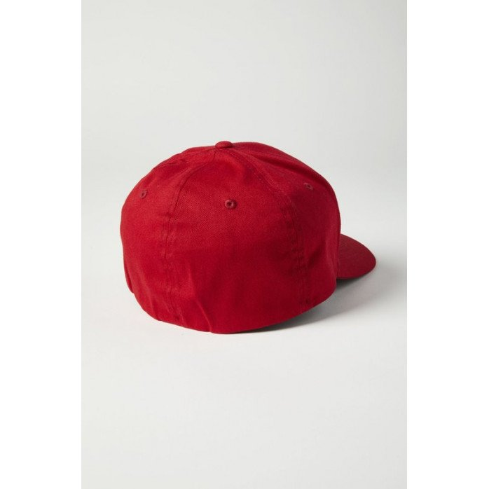 FOX EPISCOPE FLEXFIT HAT RED/BLACK L/XL