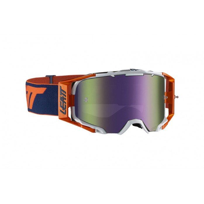 Leatt akiniai Velocity 6.5 Iriz Org/Ink Purple 30%
