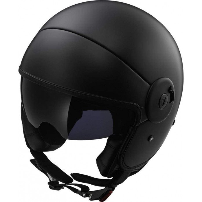 LS2 Helmet OF597 CABRIO VIA Matt Black XL