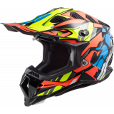 LS2 Helmet MX700 Subverter Rascal Black/Fluo Orange M
