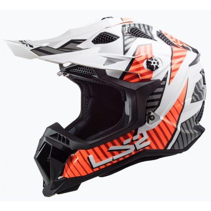 LS2 Helmet MX700 Subverter Astro White/Orange XS