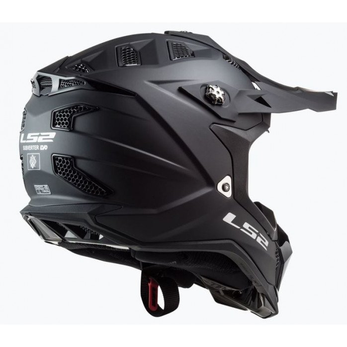 LS2 Helmet MX700 Subverter Noir Matt Black 3XL