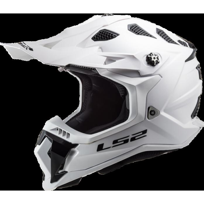 LS2 Helmet MX700 Subverter Solid White L