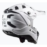 LS2 Helmet MX700 Subverter Solid White 2XL