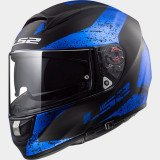 LS2 Helmet FF397 SIGN matt black blue L
