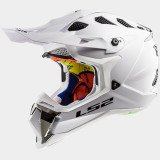 LS2 Helmet MX470 SOLID white S