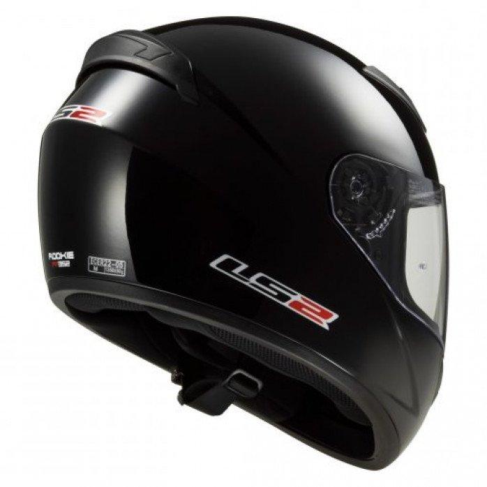 LS2 FF352 ROOKIE Black XXL