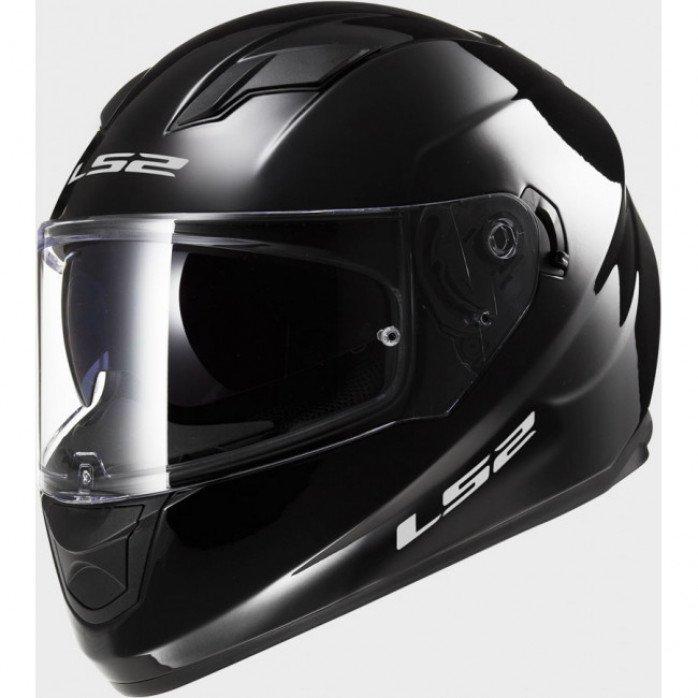 LS2 FF320 Stream Evo Solid Black XXL