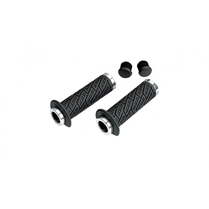 MOOSE RACING RANKENĖLĖS Lock-On Grip System Black B30mdb-S