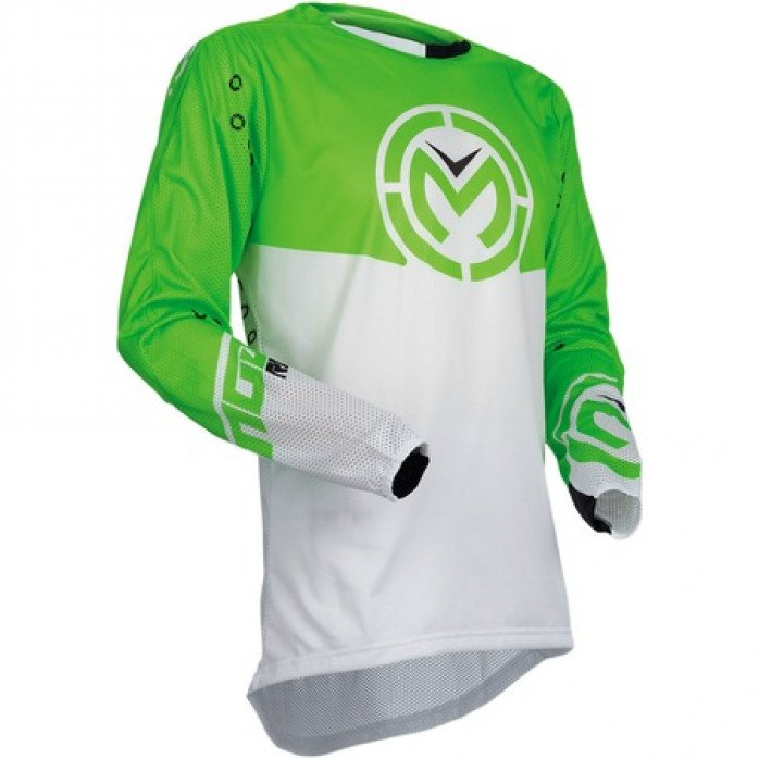 MOOSE RACING Jerseys Sahara Verde/Alb LGSIZE L