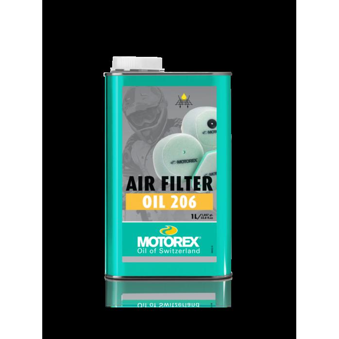 Oro filtro tepalas MOTOREX AIR FILTER OIL 206 1L