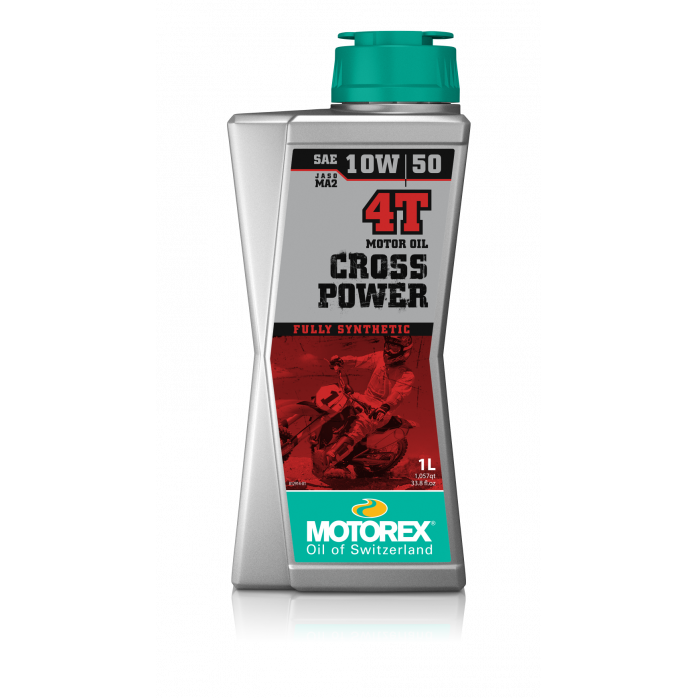 Sintetinis Tepalas MOTOREX CROSS POWER 4T 10w50 1L