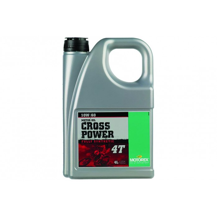 MOTOREX CROSS POWER 4T 10W/60 JASO MA 2 4 L