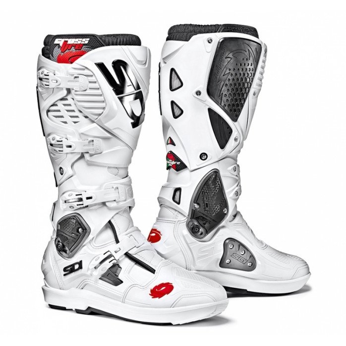 Sidi Crossfire 3 SRS MX boot white 43