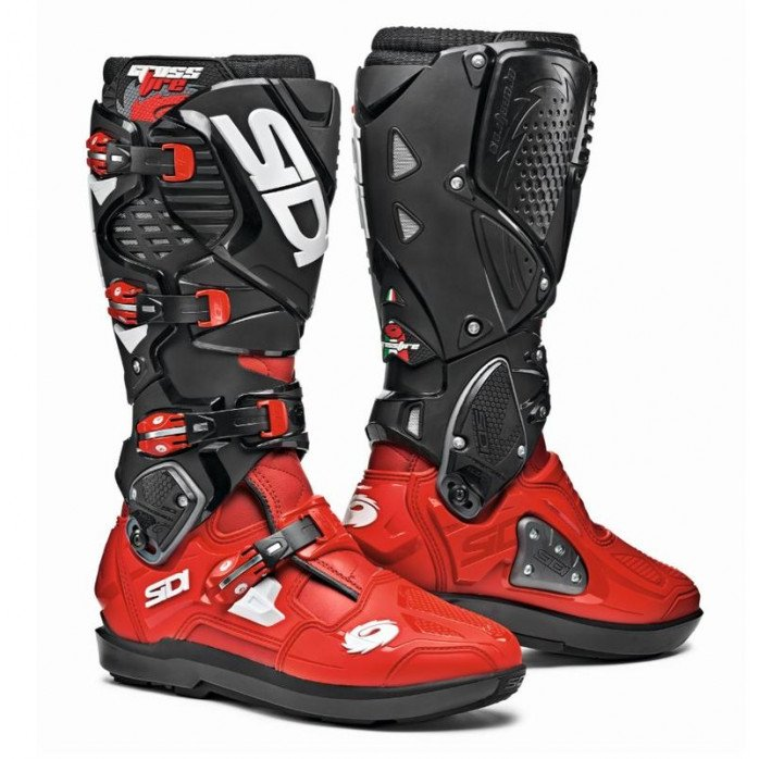 Sidi Crossfire 3 SRS Boot Red/Black 45