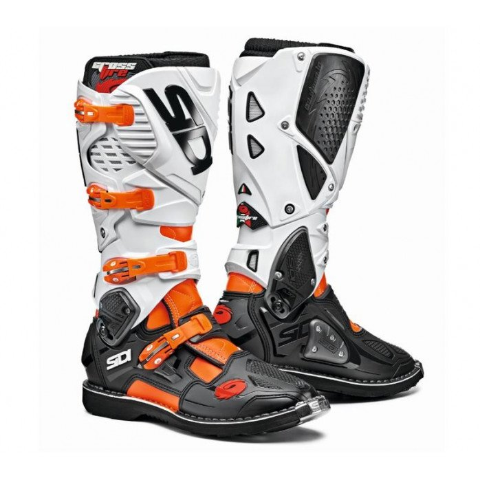 Sidi Crossfire 3 Boot Orange/Black/White 40