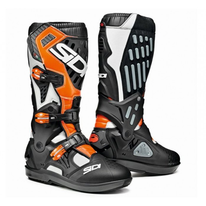 SIDI ATOJO SRS WHITE BLACK ORANGE FLUO 47