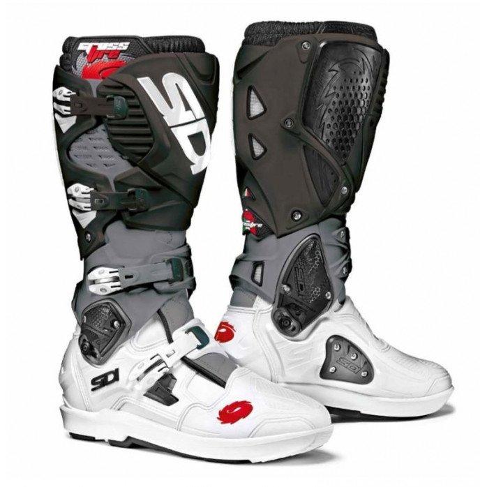 SIDI Crossfire 3 SRS MX Boot White/Grey/Black 44