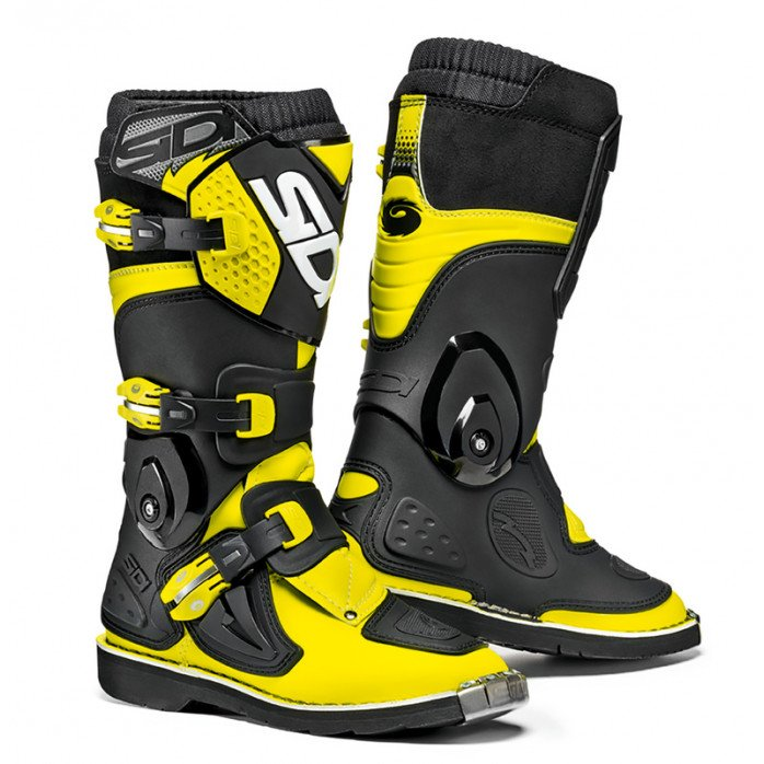 SIDI MX BATAI FLAME JUNIOR, FLUO YELLOW/BLACK 31