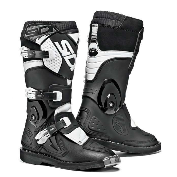 SIDI MX BATAI FLAME JUNIOR, BLACK/WHITE 37