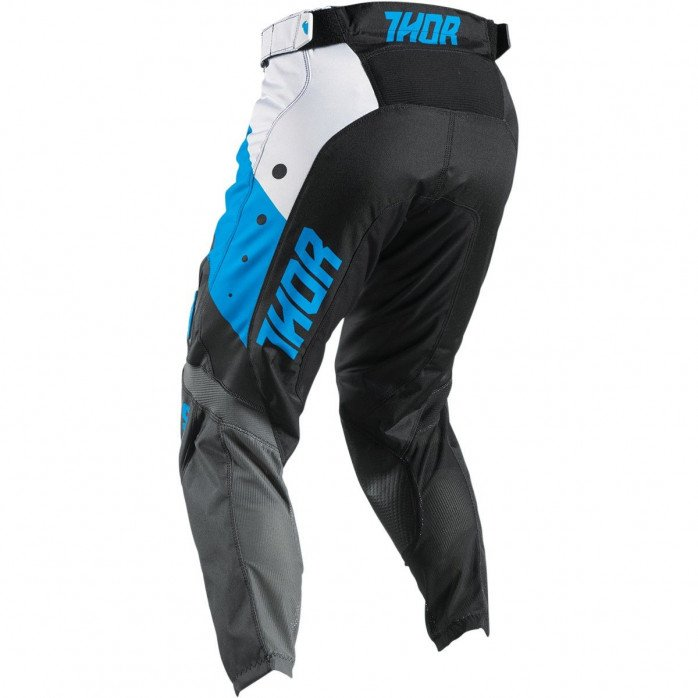 THOR YOUTH OFFROAD PANTS BLUE/BLACK/WHITE SIZE 22