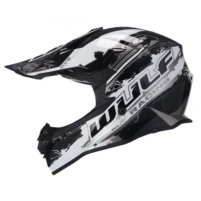 Wulfsport Off Road Pro Helmet black white M