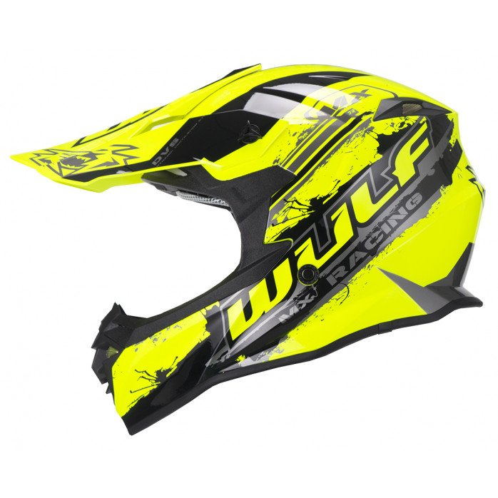 Wulfsport Off Road Pro Helmet YOUTH YELLOW YM