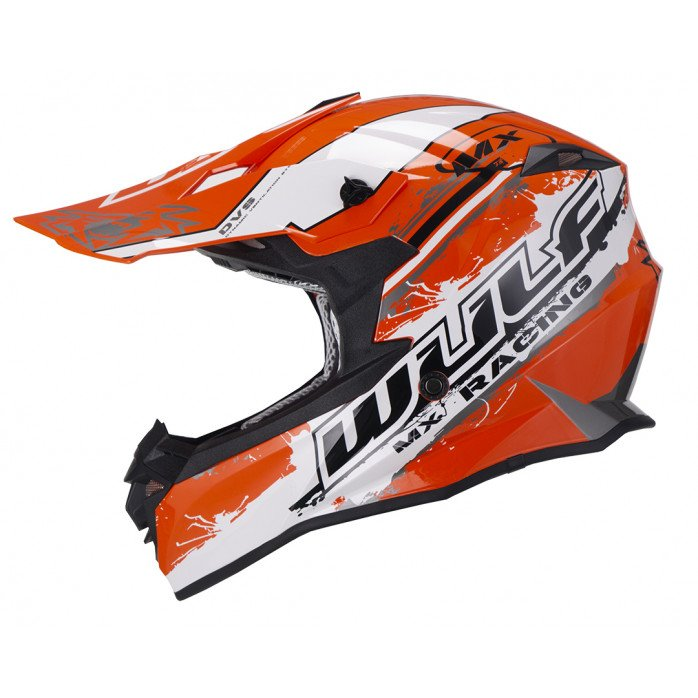 Wulfsport Off Road Pro Helmet ORANGE S