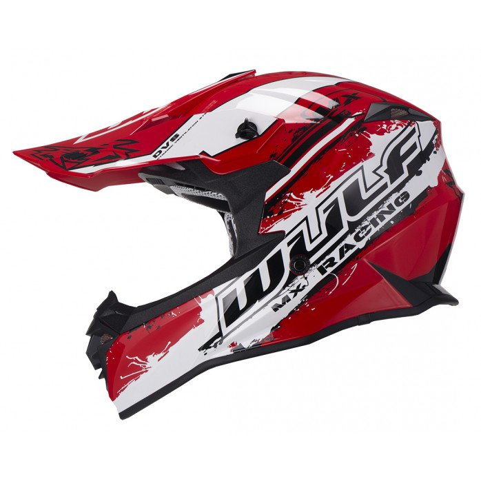 Wulfsport Off Road Pro Helmet RED XL