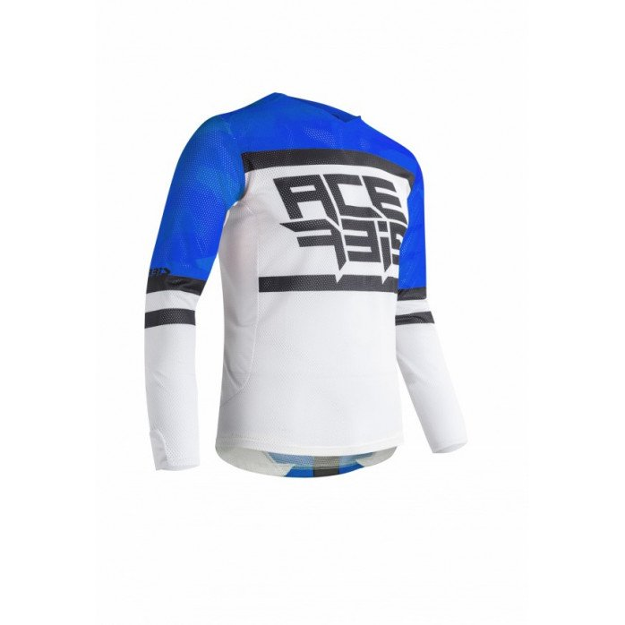 JERSEY MX HELIOS VENTED - BLUE/WHITE